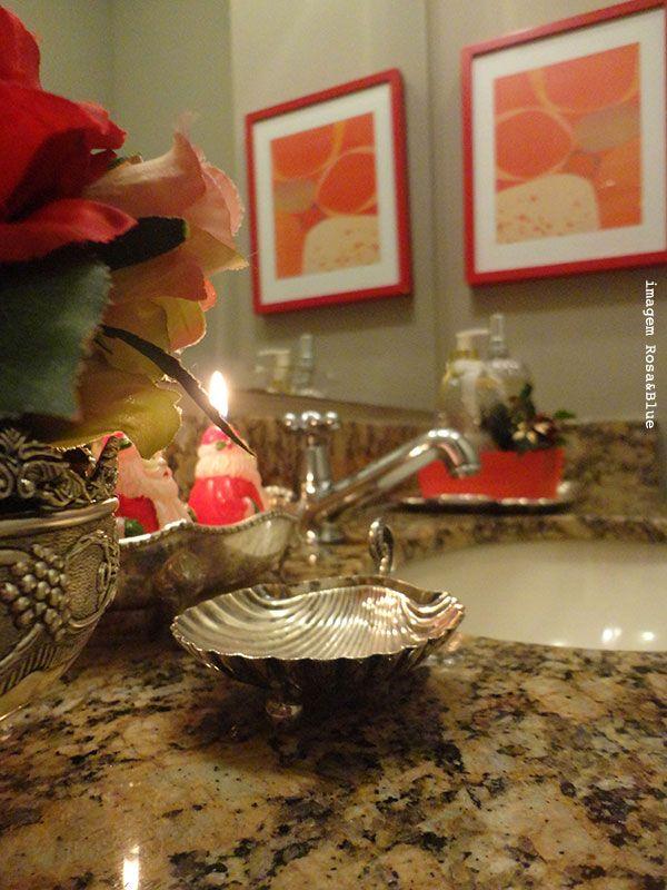 decoracao no lavabo : decoracao no lavabo:Decoração de natal no lavabo