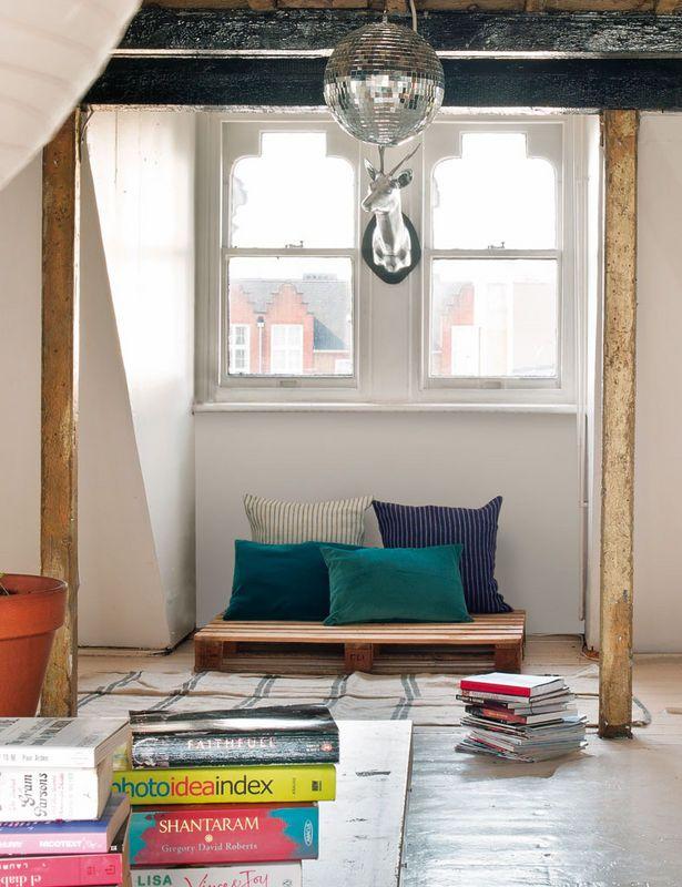 Palette en bois déco  Décoration intérieure  Pinterest