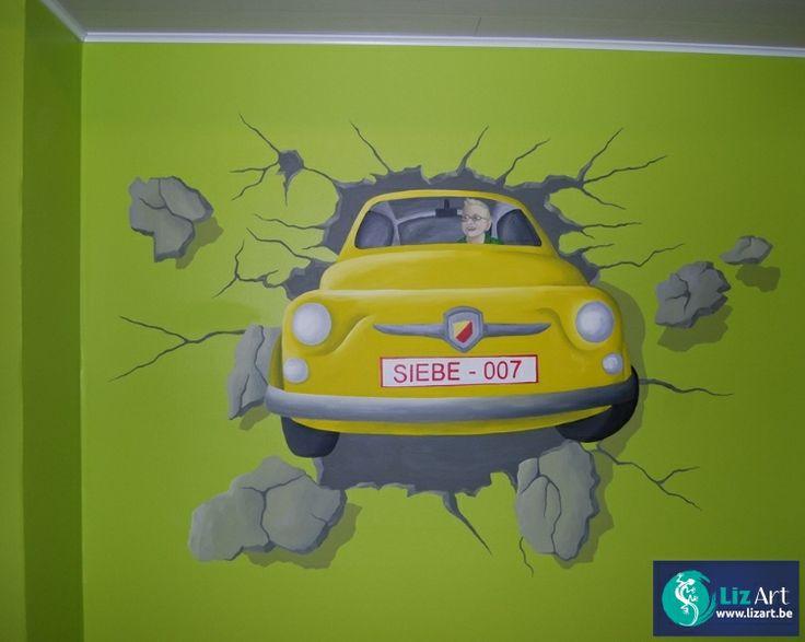 Jungle Book Slaapkamer : muurschildering jungle book kinderkamer Book ...