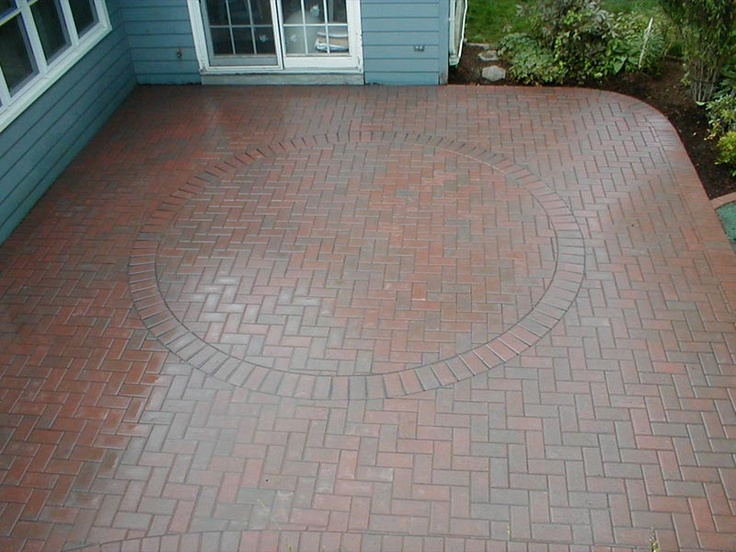 Red Paver Patios Google Search Flagstone Patio And