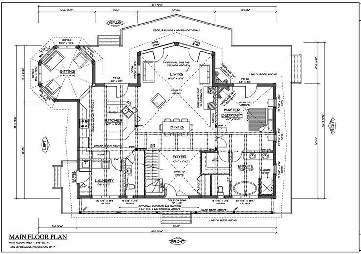 Pin by nadine kala on dream homes floor plans pinterest - Luxury log cabin plans image ...