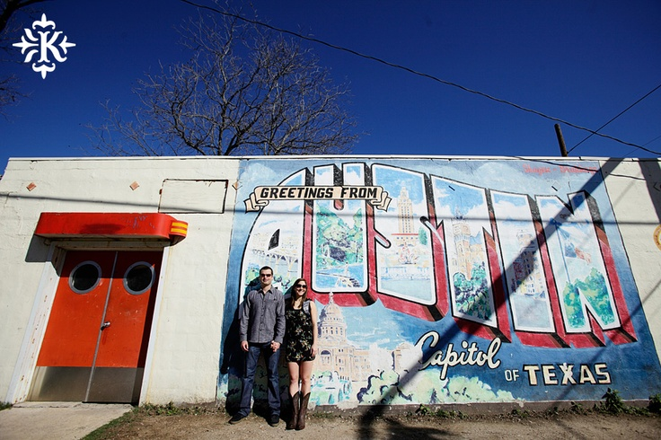 Pin by roadhouse relics on greetings from austin mural for Austin mural location