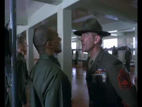 R Lee Ermey Full Metal Jacket Drill Sergeant Hartman...