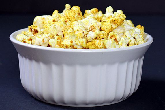 Curry Healthy Microwave Popcorn | Recipe