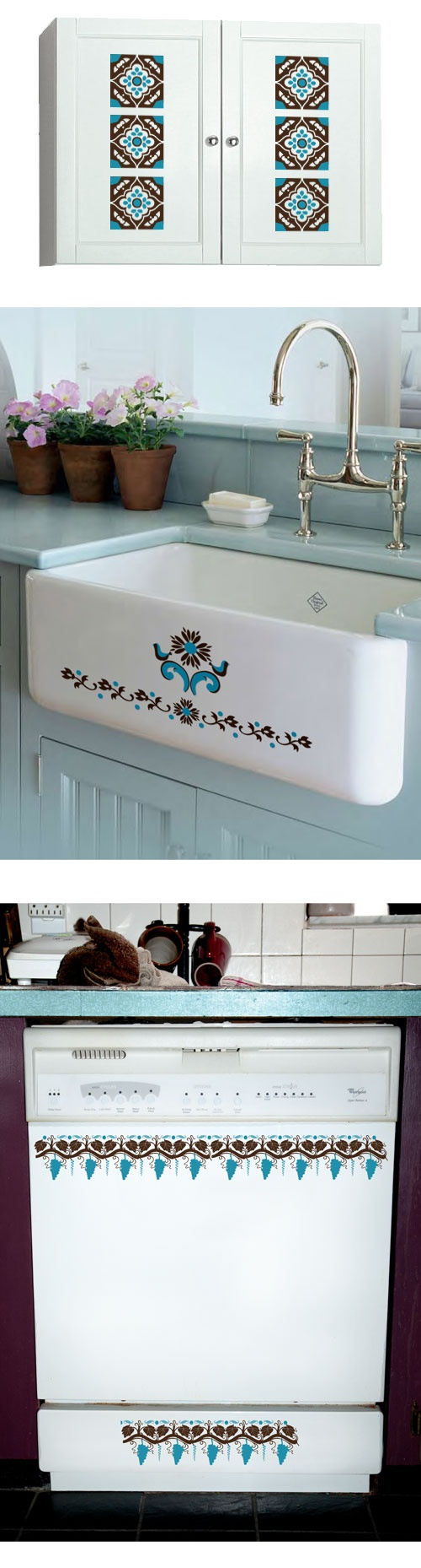Decals Are Great For Dressing Up Your Kitchen Or Bathroom So Easy