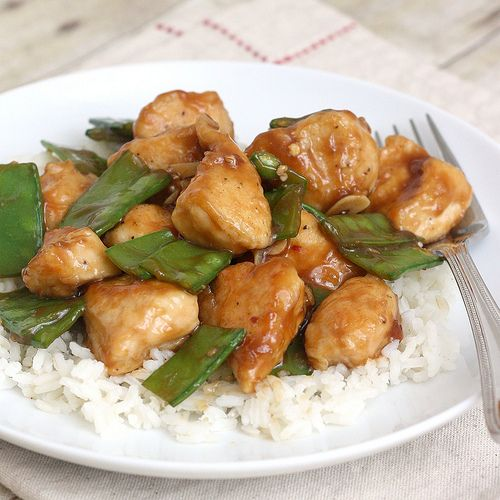 Lighter General Tso's Chicken- simple to make and very flavorful