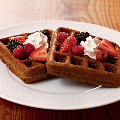 Gingerbread Waffles | Pancakes, Waffles & French Toast | FamilyFun
