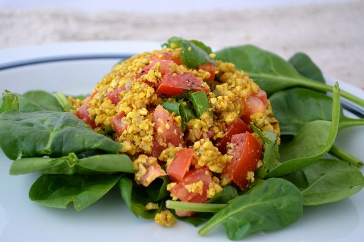 Spanish scramble (raw) | Recipes | Pinterest
