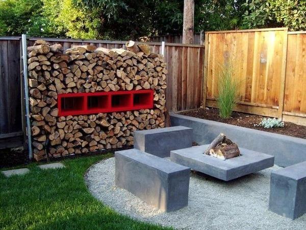 Small Backyard Landscaping Fire Pit Ideas