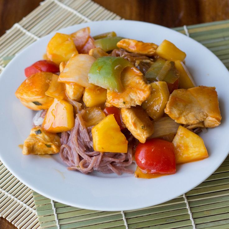 Thai Chicken And Pineapple Stir Fry Recipe — Dishmaps