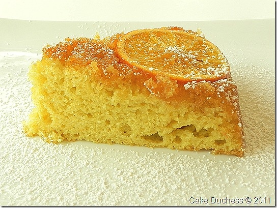 Screwdriver Cake-Caramelized Orange Olive Oil Cake