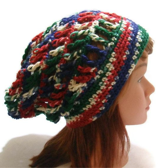 Crochet Stitch Open : Crochet Open Stitch Mesh Slouchy Beanie Hat in by AddSomeStitches, $24 ...