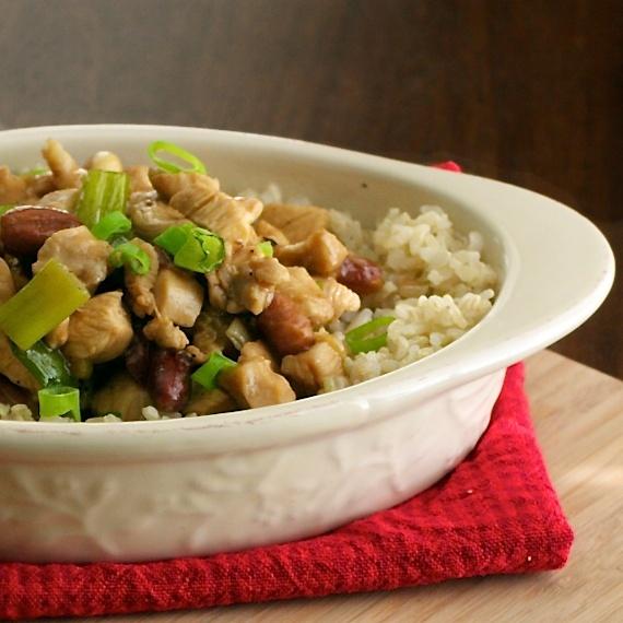 Kung Pao Chicken Skewers Recipe — Dishmaps