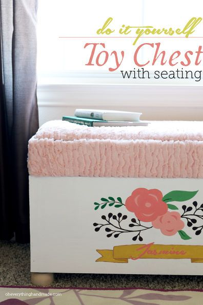 How to Build a Toy Chest From Scratch