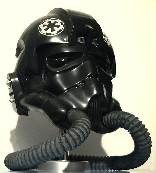 LAWS ANH Tie-Fighter Pilot Helmet | My Collection of Star ... Tie Fighter Pilot Helmet