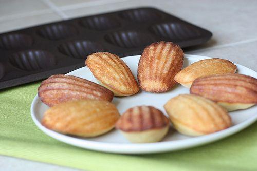 Lemon-Glazed Madeleines | Recipes to Try | Pinterest