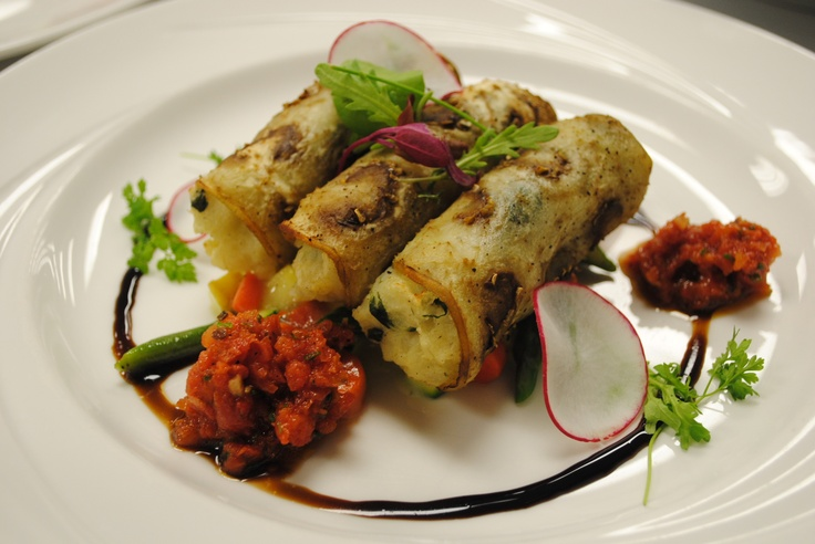 Vegetarian Eggplant Cannelloni, recipe from featured chef Rob Huff ...
