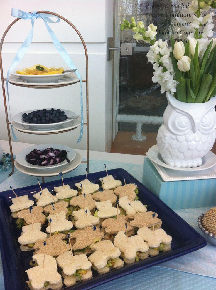 baby shower tea sandwiches let 39 s party pinterest