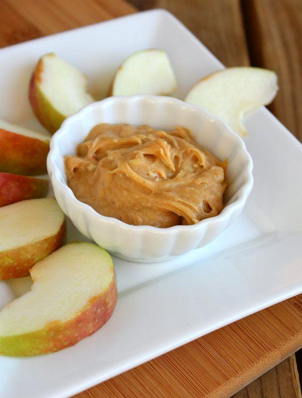 Peanut Butter Cream Cheese Apple Dip | Recipe