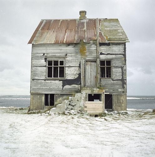 abandoned home somewhere in scandinavia