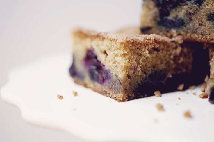 Brown Sugar Sour Cream Blueberry Coffee Cake...with cinnamon streusel