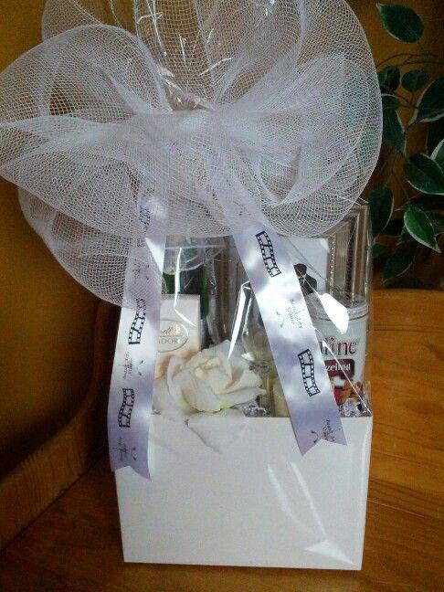 Wedding Gift Basket Gift Baskets Pinterest