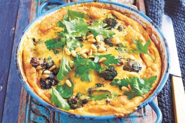 frittata recept yummly broccolini and potato frittata broccolini and ...