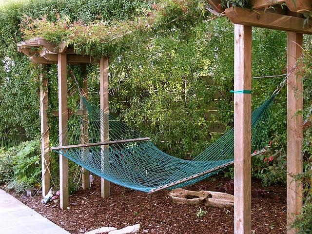 Backyard Hammock Ideas : Hammock  Landscapes & Yard ideas  Pinterest