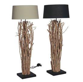 Lamp van houten takken maken