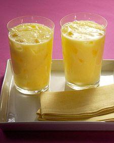 Mango-Yogurt Drink | Drinks | Pinterest