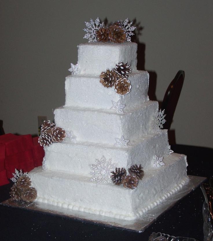 pinecone cake... | wedding cakes | Pinterest