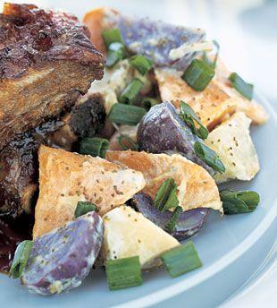 Grilled Three-Potato Salad | Recipe