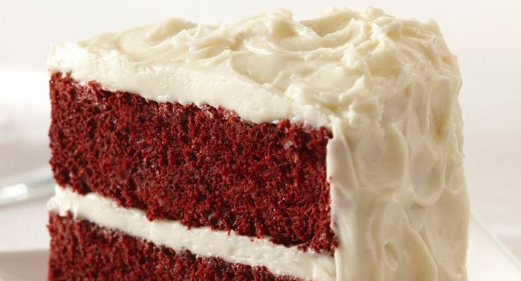 Easy Red Velvet Cake with Vanilla Cream Cheese Frosting | Recipe