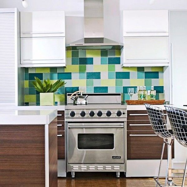 go green kitchen backsplash decorating pinterest