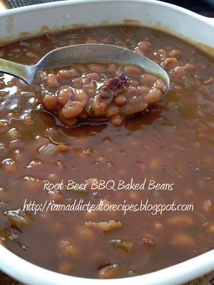 Root Beer BBQ Baked Beans | Addicted to Recipes