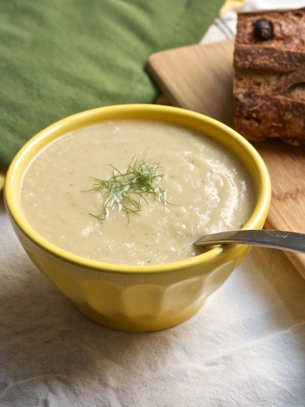 Fennel and Celery Root Soup from Big Girls Small Kitchen