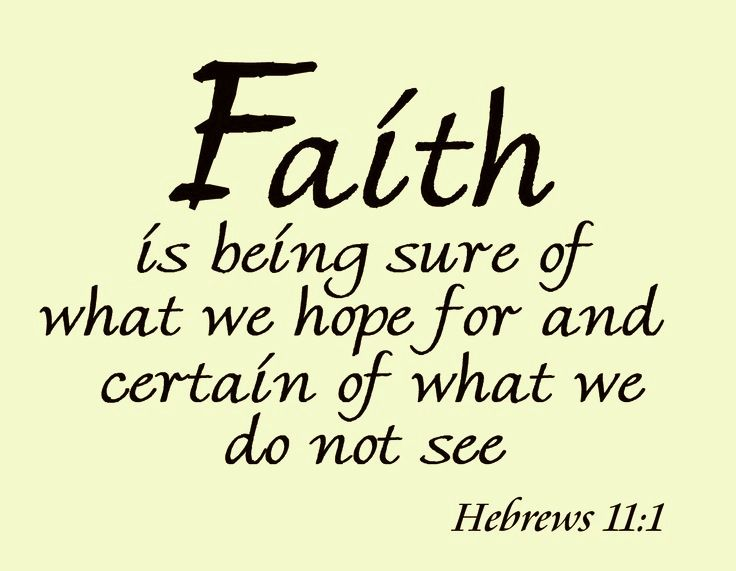 Hebrews 11:1 | Qoutes | Pinterest Faith In God Quotes And Sayings