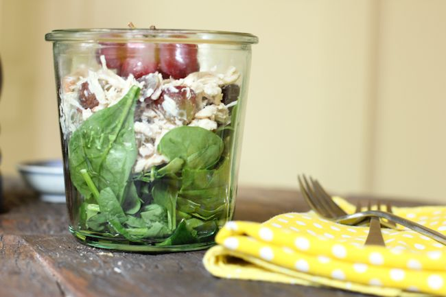 Chicken Salad Recipe In A Jar Recipe — Dishmaps