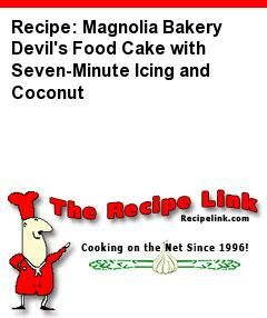... Devil's Food Cake with Seven-Minute Icing and Coconut - Recipelink.com