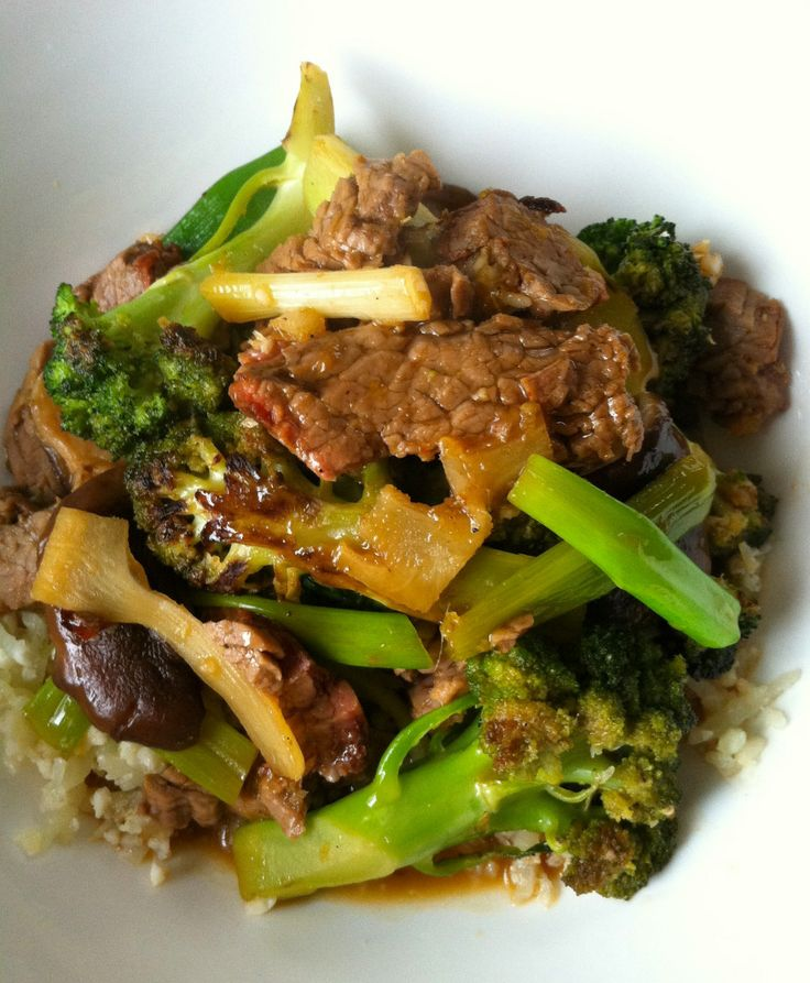 beef&broccoli | Whole30 | Pinterest