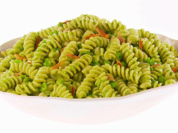 Fusilli with Pea Pesto and Smoked Mozzarella by Giada DeLaurentis ...