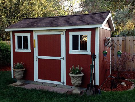 Preparing site for tuff shed metal outdoor storage for Tuff sheds