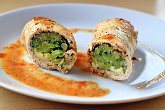Easy Broccoli and Cheese Stuffed Chicken | EDIBLE.Low.Carb | Pinterest