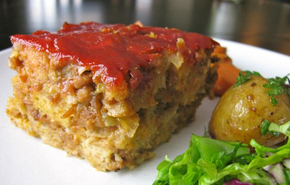 Meatless meat loaf! | Food | Pinterest