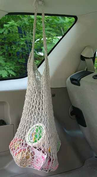 Knit Shopping Bag
