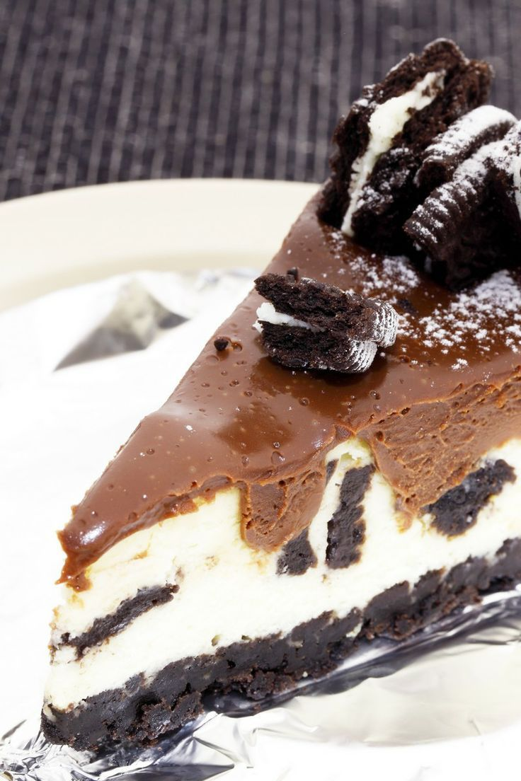 Chocolate Cookie Cheesecake Recipe — Dishmaps