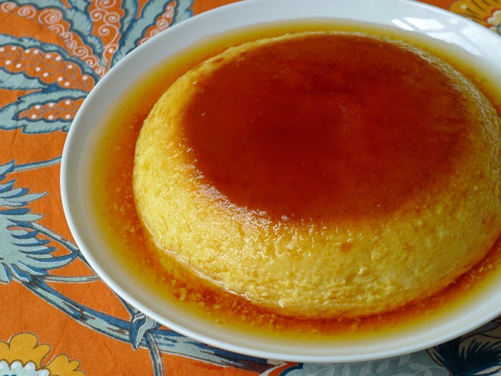 Flan De Naranja; Orange Flan | Foodz + munchiez | Pinterest