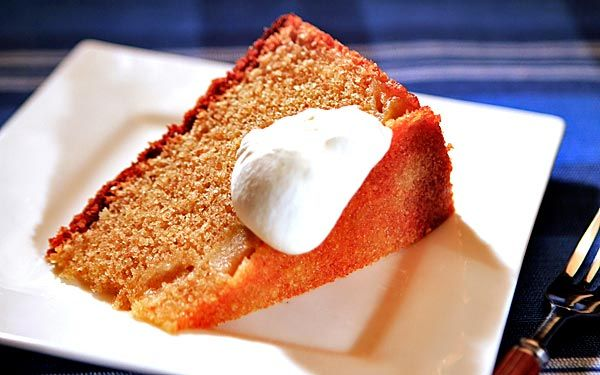 Huckleberry's whole wheat apple butter cake LOT of sugar: combo of ...