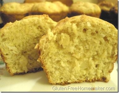 Pineapple Coconut Muffins - The Gluten-Free Homemaker