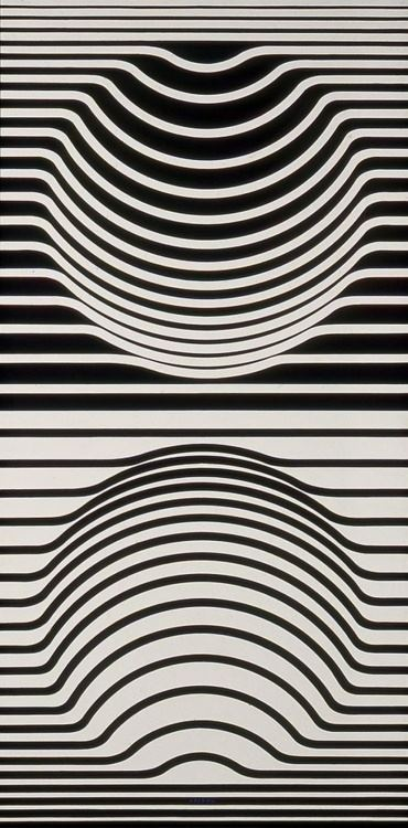 Line Design Op Art : Victor vasarely